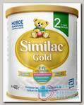 Симилак Голд 2 сухая последующая адаптированная молочная смесь 6 - 12мес 400г N 1