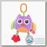 Мир детства игрушка мягконабивная мудрая сова /33380/ 6+мес N 1