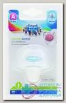 Canpol babies соска-пустышка силикон симметричная NewbornBaby 0-6мес 22/580 N 1