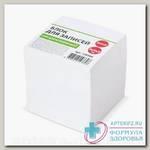 Блок для записей не проклеенный 9x9x9 серая бумага N 1