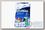 Dry Nites трусики д/мальчиков 17-30кг 4-7лет N 10
