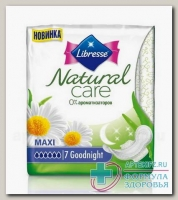 Прокладки Либресс Natural care goodnight maxi N 7