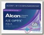 Alcon Air Optix Aqua Multifocal 30тидневные контактные линзы D 14.2/R 8.6/ +4.75 low N 3