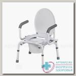 Тривес кресло-туалет Nova с опускающимися подлокотниками TN-408 N 1