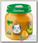 Гербер Пюре яблоко/груша 130г N 1