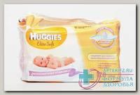 Huggies Elit Soft салфетки детские влажные N 128
