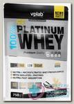 100% Platinum Whey со вкусом ванили 750г пакет N 1