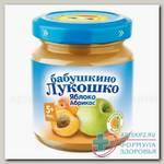 Баб лукошко Пюре яблоко/абрикос 100г 1