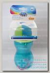 Canpol babies поильник с трубочкой 370мл +12мес N 1