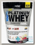 100% Platinum Whey со вкусом малина-белый шоколад 750г пакет N 1