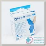 Hartmann peha-soft nitrile fino перчатки н/стер нитриловые без пудры p-р L N 10