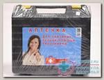 Аптечка д/оказания первой помощи работникам в пластмассовом шкафу N 1
