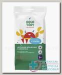 Aqua Tory салфетки влажные детские а/бактериальные N 10