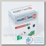 Тест-полоски MultiCare-in на общий холестерин N 5
