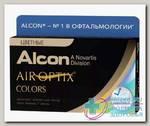 Alcon Air Optix Colors 30тидневные контактные линзы D 14.2/R 8.6/ -3.75 Blue N 2