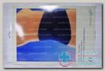 Intersan поясничный карсет с застежкой Велкро р-р S cn 217141 цвет синий N 1