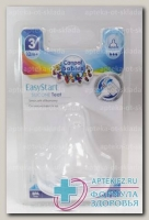 Canpol babies соска молочная силикон д/бутылочек с широким горлом быстр поток +12мес N 1