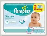 Салфетки влажные Памперс детские смен.блок N 128