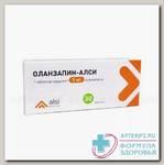 Оланзапин-АЛСИ таб 5мг N 30