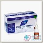 Phyto Фитолиум4 сыворотка п/выпад волос и коррекц хронич выпаден амп 3.5мл N 12