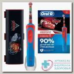 Зубная щетка Oral-B электрическая д/детей Vitality Stages Тачки + дорожный чехол с 3+ N 1