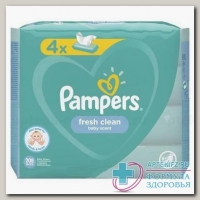 Салфетки влажные Памперс детские fresh clean baby scent N 208
