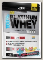 100% Platinum Whey со вкусом клубника-банан 750г пакет N 1