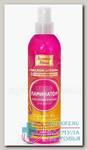 Золотой шелк спрей 300мл ламинатор блескообразующий д/волос N 1