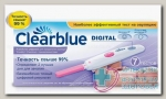 Тест на овуляцию Clearblue digital цифровой N 7