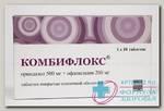 Комбифлокс тб п/о плен 500мг+200мг N 10