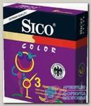 Презервативы Sico цветные N 3