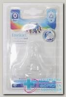 Canpol babies соска силикон д/бутылочек с широким горлом поток д/новорожд 0-3мес N 1