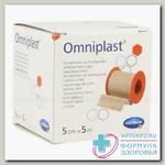 Hartmann Omniplast пластырь 5м х 5см с еврохолдером N 1