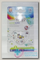 Canpol babies соска-пустышка силикон анатомич ортодонтическая Machines +18мес N 1