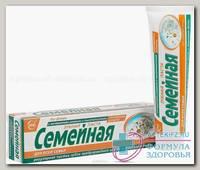 Зубная паста Семейная 124г с экстр ромашки/тысячелистника б/фтора N 1