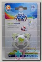 Canpol babies соска-пустышка силикон симметричная Summer time +18мес N 1