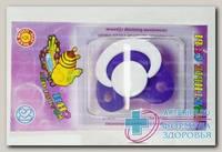 Соска-пустышка силиконовая Цветные сны N 1