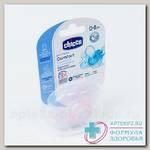 Chicco пустышка Physio Comfort силикон 0-6 мес Белочка N 1