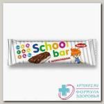 Батончик мюсли в молоч глазури с шоколадом 25г School bar N 1
