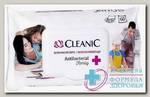 Cleanic Салфетки влажные антибакт д/всей семьи освеж клапан N 60
