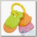 Курносики игрушка-погремушка прорезыватель фруктовая корзинка /23054/ 4+мес N 1