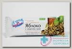 ЛЕОВИТ батончик-мюсли Яблоко с семен льна 30г N 1