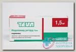 Индапамид ретард -Тева тб с контр высв п/о плен 1,5 мг N 30