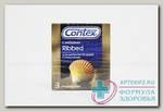 Презервативы Contex Ribbed N 3