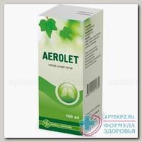 Аэролет сироп растительный фл 100мл N 1