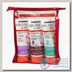 Orange Slim набор-7 крем-скраб 200мл + интенсивн гель 200мл + крем-гель сжигатель жира 200мл N 1