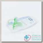 Chicco пустышка Physio Soft силикон зеленая +12мес 310410143 N 1