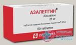 Азалептин тб 25мг N 50
