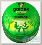 Gardex family свеча от комаров 110г с маслом цитронеллы N 1