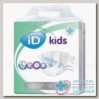 iD Kids подгузники д/детей maxi (7-18 кг) N 100